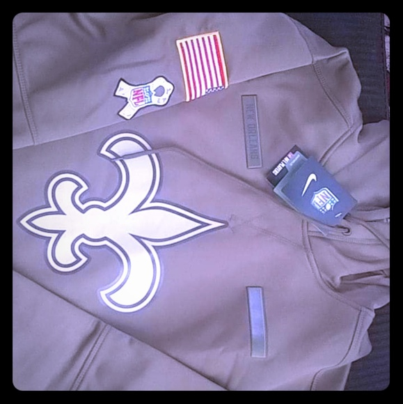 new style 499bf 4064b 2018 Salute to Service New Orleans Saints Performa NWT